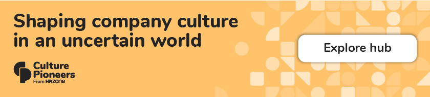 Culture change in an uncertain world