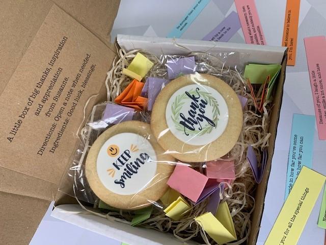 EDF little box of appreciation