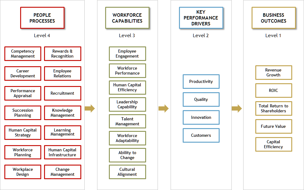 Figure 3: Human Capital Value Profiling Process (adapted from Accenture, 2006)