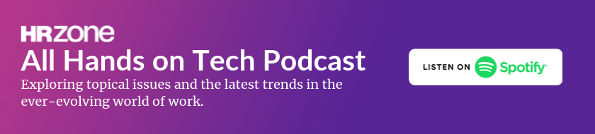 HRZone's All Hans on Tech podcast | Listen on Spotify