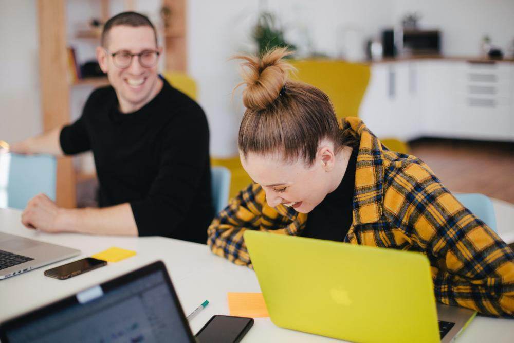 image of people at work