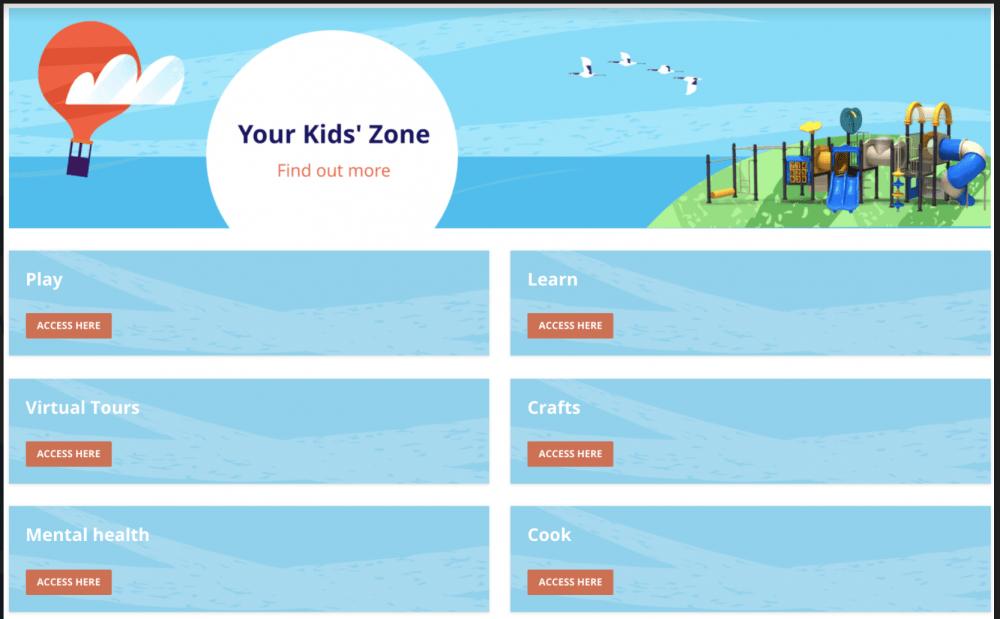 Getronics' global Kid's Zone