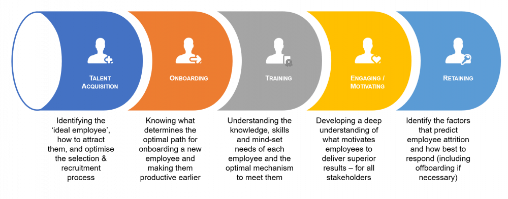 Five innovative people analytics areas