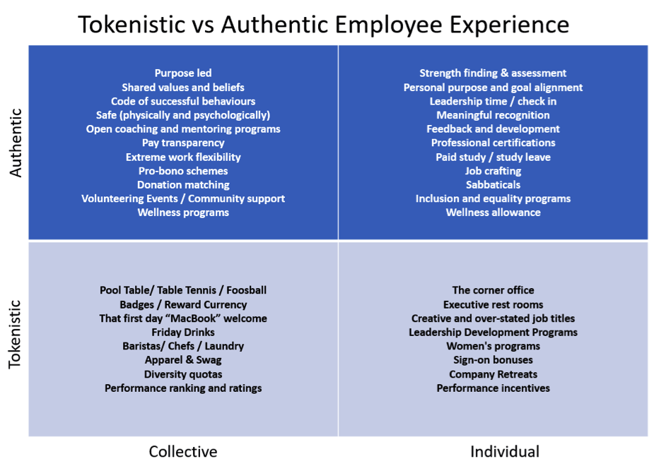 the experience assessment grid