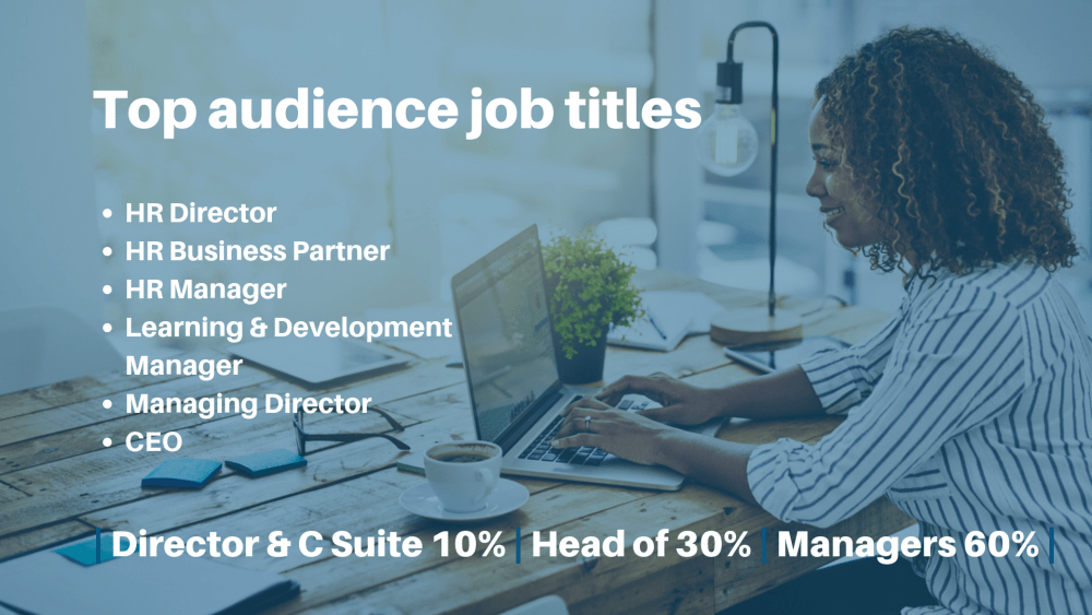Audience job titles