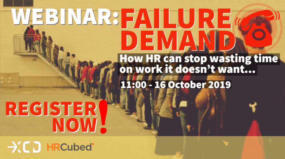 XCD Failure Demand webinar