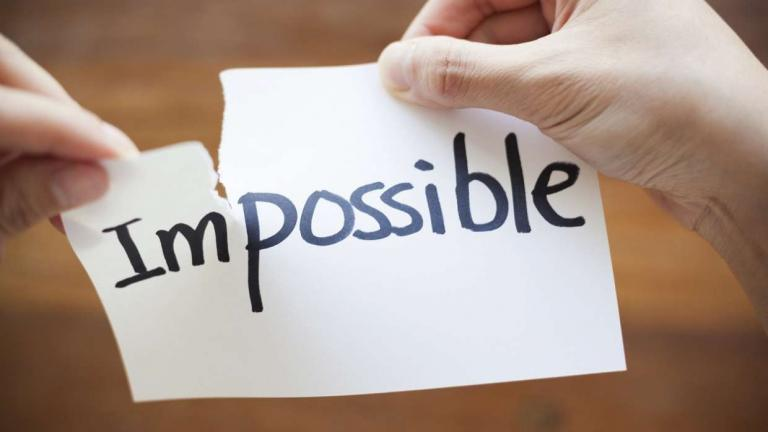 Impossible v possible