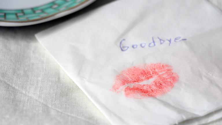 Kiss goodbye