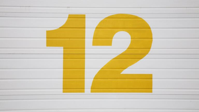 The number 12