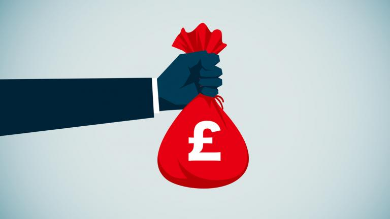 Money bag graphic