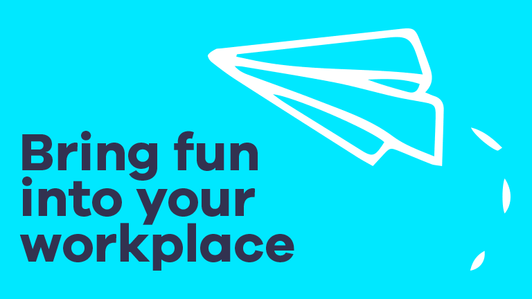 Bring fun into the workplace image