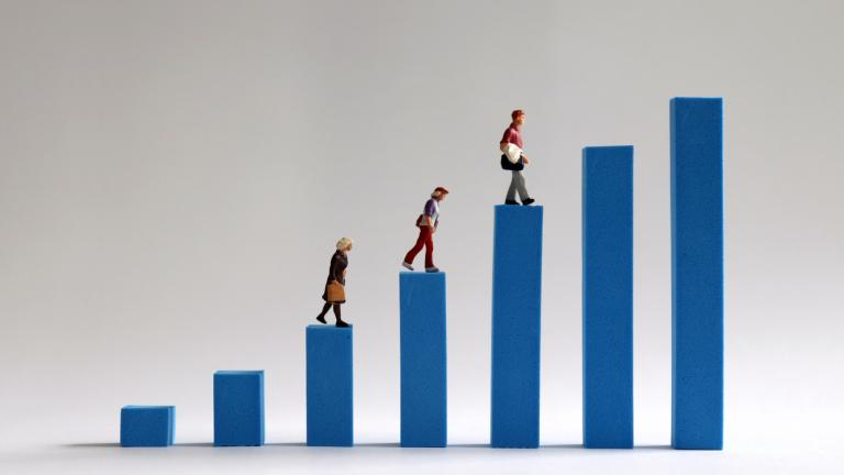 Income gap between individuals
