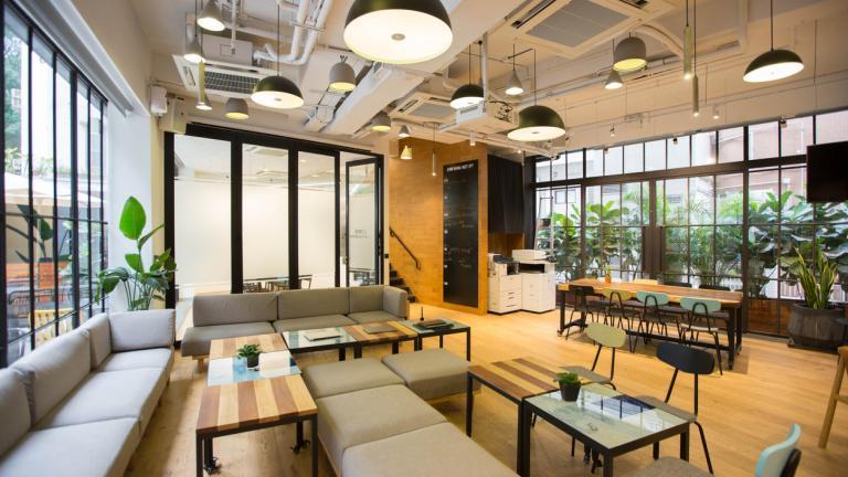Coronavirus Job Retention Scheme - empty office
