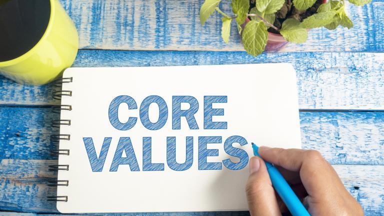 Living company values