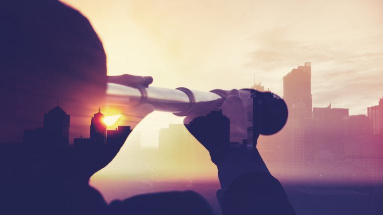 Telescope   looking to future