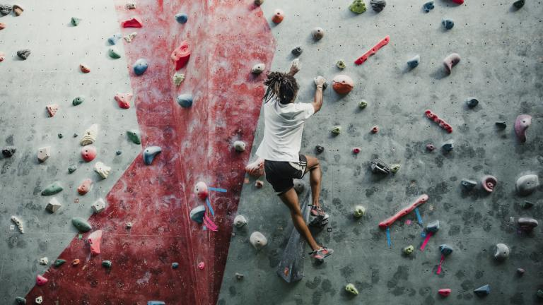 Rock climber - agility concept