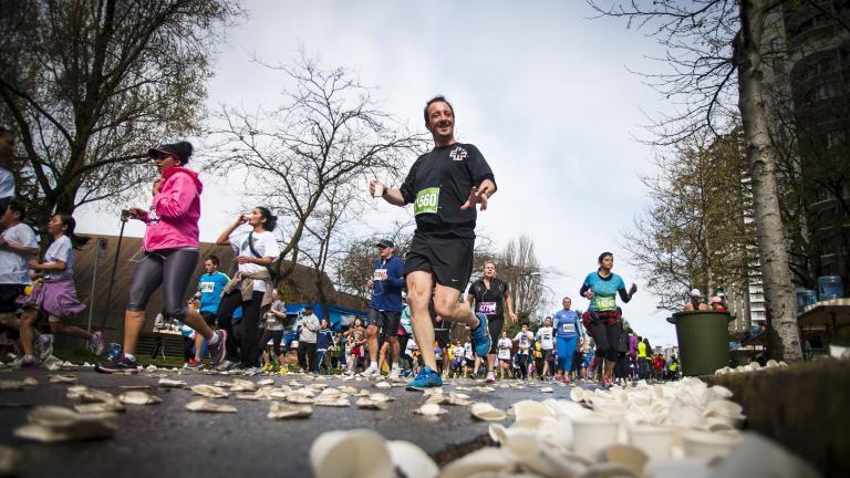 Runners doing 10k