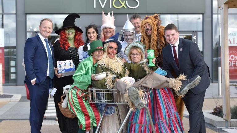 Marks & Spencer fundraising