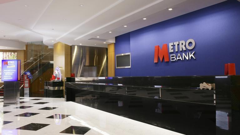 Image of a Metro Bank store