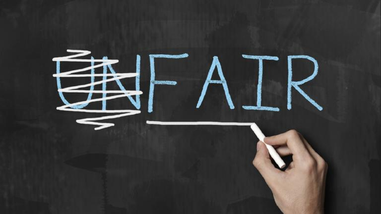 Unfair v fair