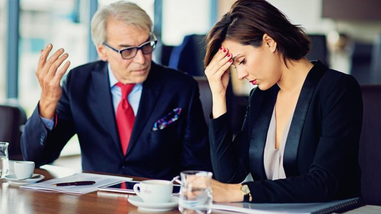 Unhappy workplace culture