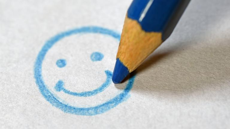 Smiley face - employee engagement