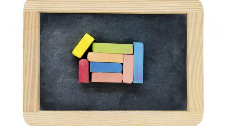 Learning styles coloured blocks