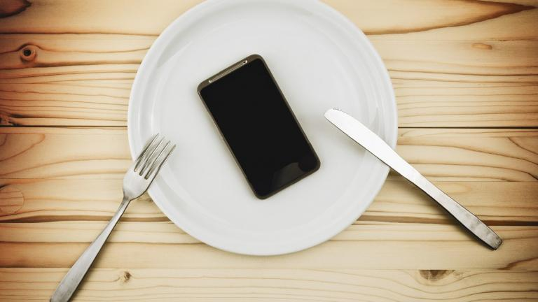 Eating a smartphone