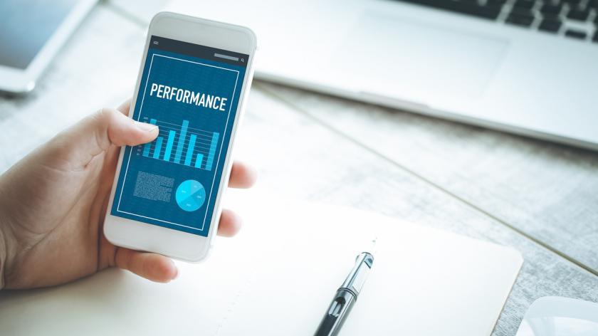 Performance management mobile app