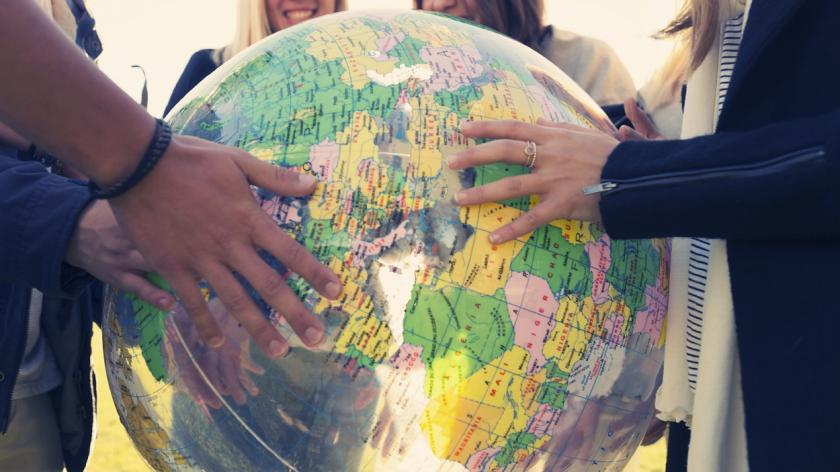 Global view Earth