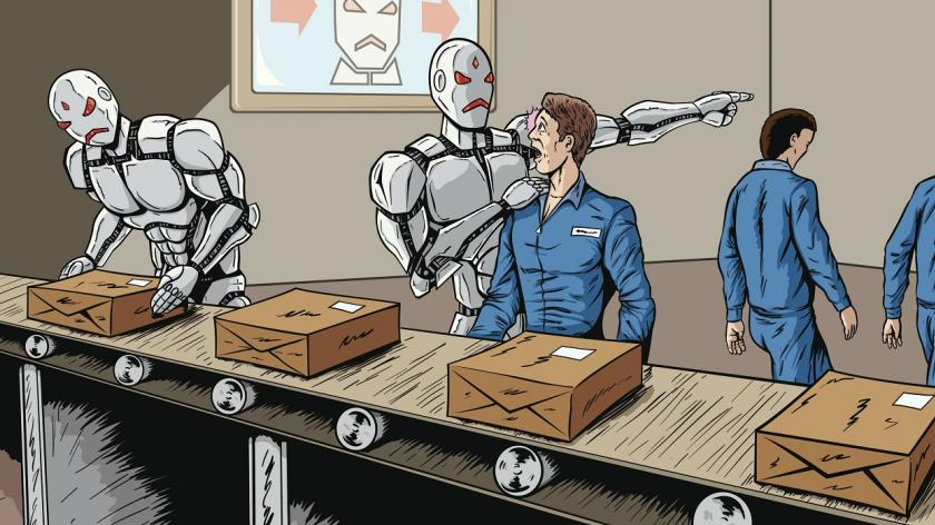 Robotic workers taking jobs
