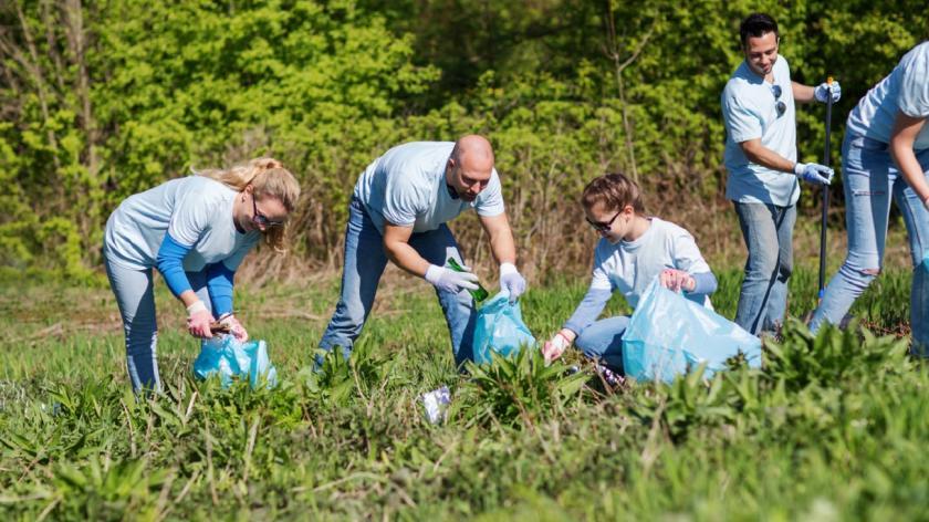 Volunteering scheme at work