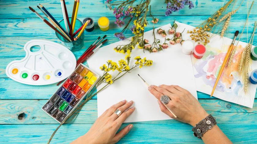 Creative paint space