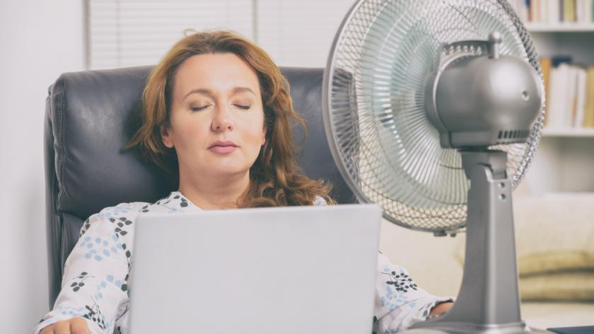 HR dealing with the heatwave