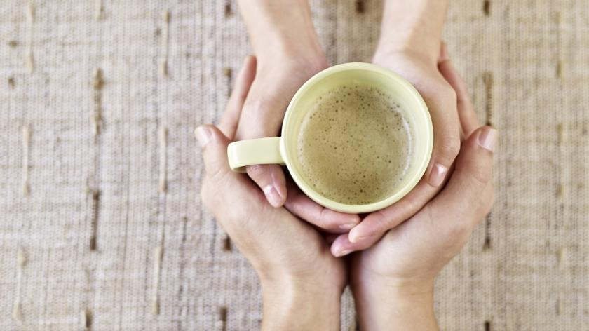Coffee cup compassion