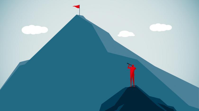 Mountain peak graphic