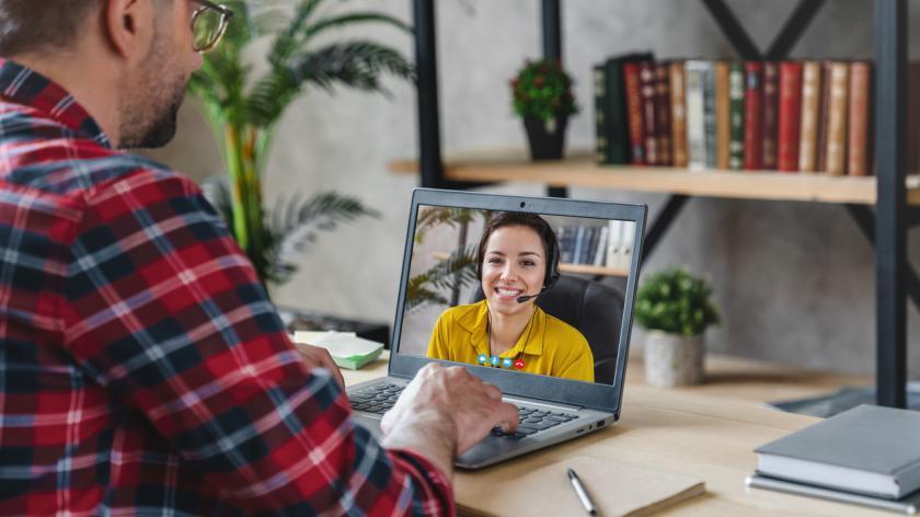 Virtual job interview