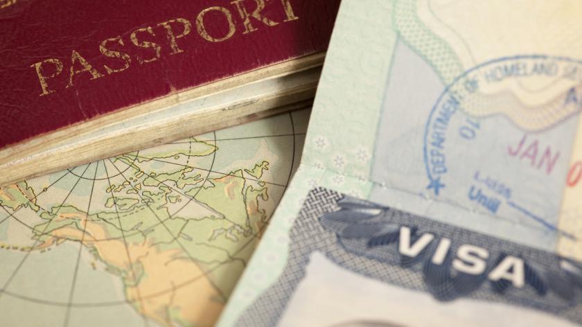 travel passports and visas