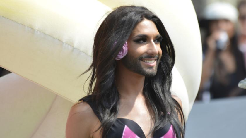 Conchita Wurst, 2014 winner of the Eurovision Song Contest