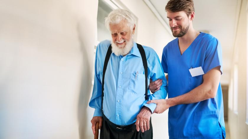 careers in social care for men