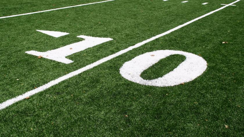 10 yard line - American football