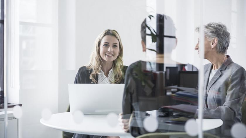 Senior women in the workplace