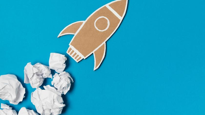Creativity in a rocket