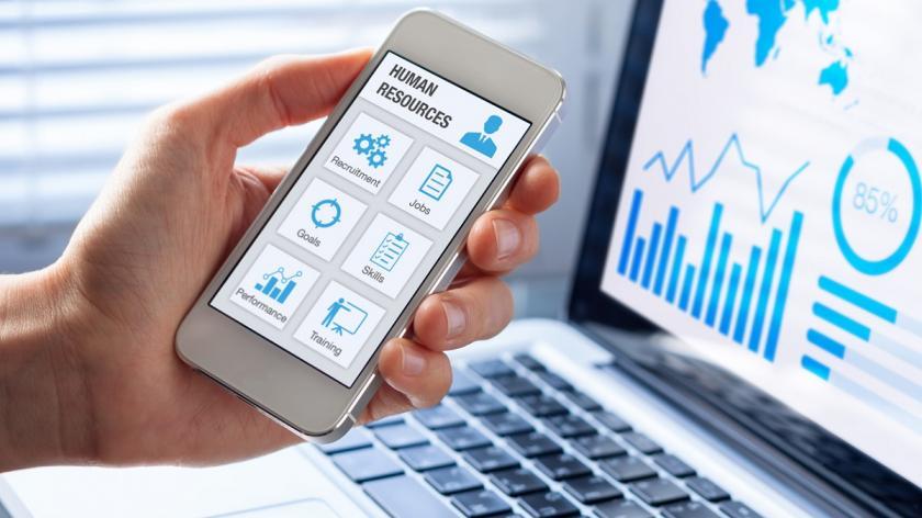 HR on mobile technology