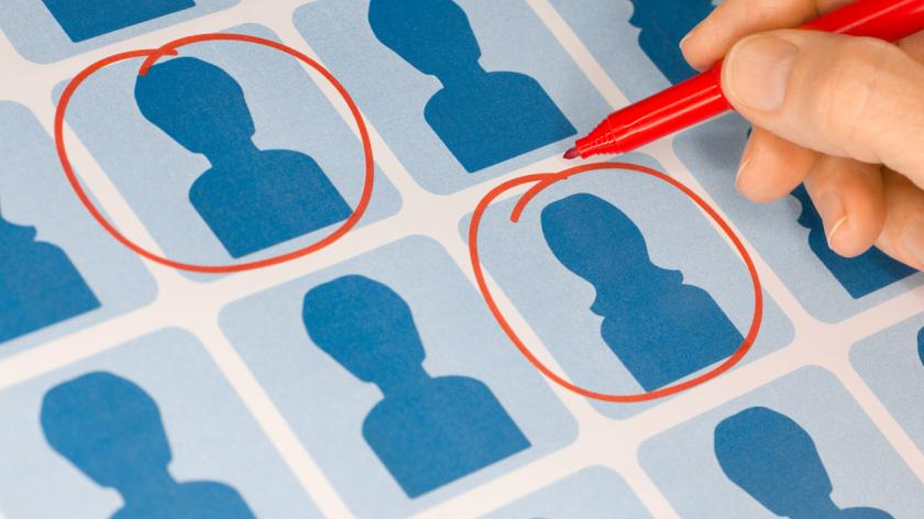 Hand Selecting Candidates with Red Pen