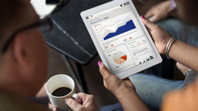 Analytics tablet