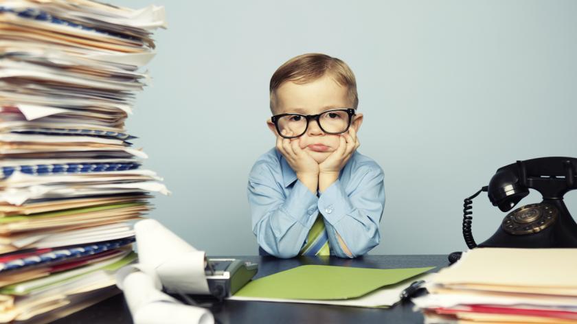Stressed Tax Kid
