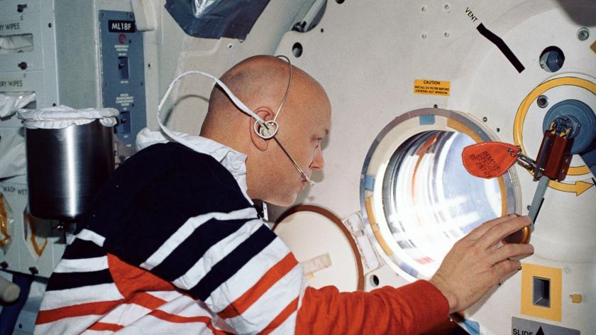 Dr Story Musgrave NASA astronaut