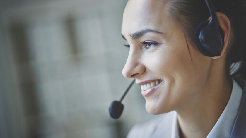 Call centre operator