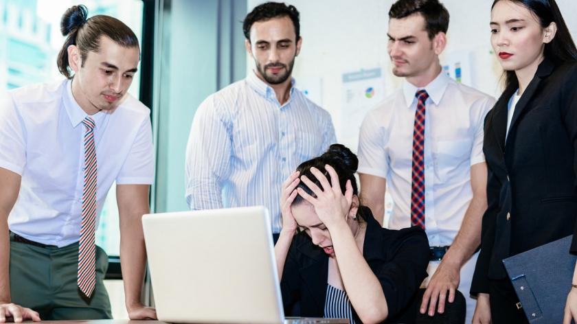 Deflated employees